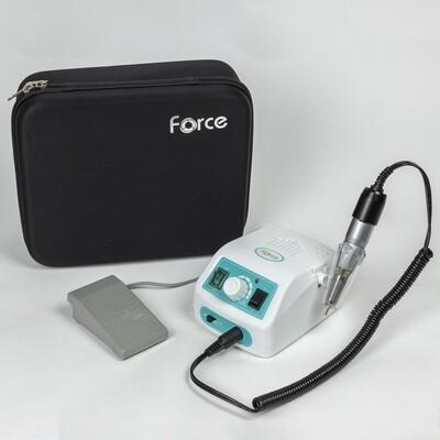 Аппарат для маникюра Force 315/120 с педалью бирюзовый