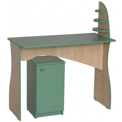 Маникюрный стол ЛЕКС с тумбой