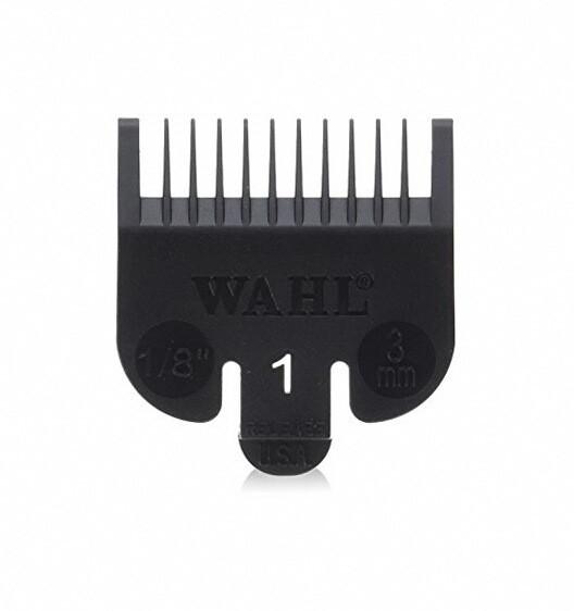 Насадка для машинки Wahl №1 3114-001, 3 мм, черная