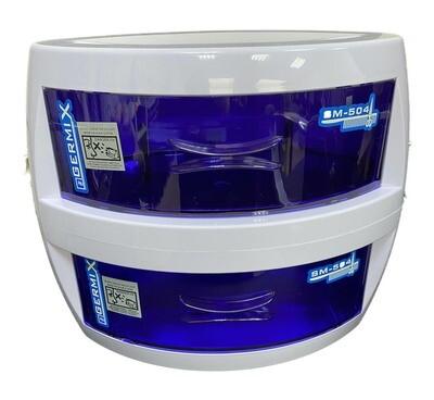 Ультрафиолетовый стерилизатор двухкамерный Germix (УФ шкаф) Rebune