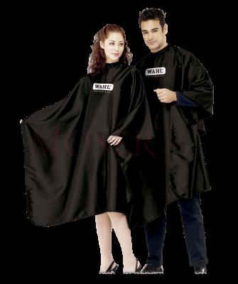 Пеньюар для парикмахеров WAHL Hairdressing Cape Black 4505-7001