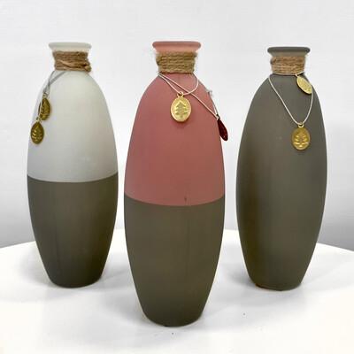 Вазы-бутылочки керамические