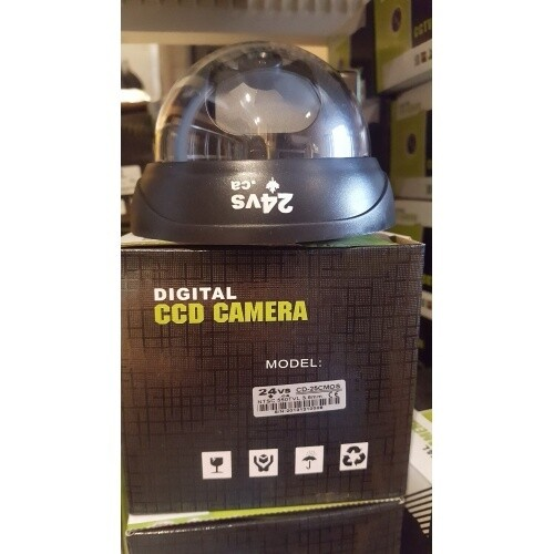 Mini Caméra Surveillance dome intérieur cmos 550 tvl