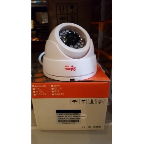 Caméra Surveillance dome intérieur cmos 540 tvl