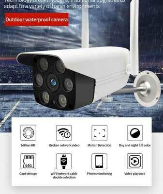 Caméra de sécurité et Surveillance vidéo Wifi HD 720P