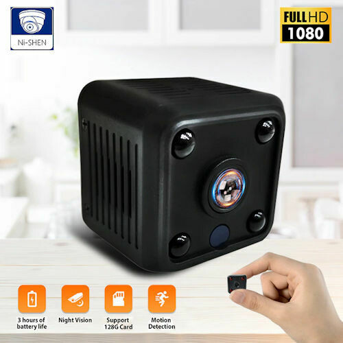 1080P HD Mini caméra wifi caméra Ip wifi Micro avec 32GB de mémoire