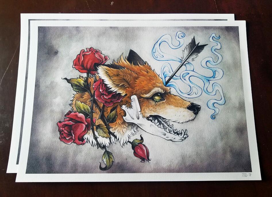 Anxiety Stricken Art Print