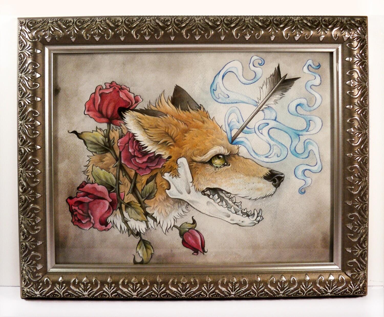 """Anxiety Stricken"" Original Painting"