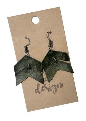 Double Arrows Dark Green