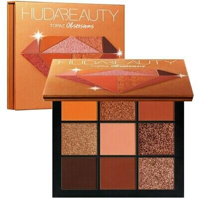 Палетка теней Huda Beauty Topaz Obsessions Palette