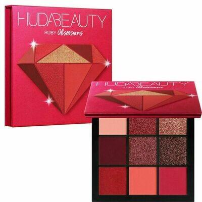 Палетка теней Huda Beauty Ruby Obsessions Palette