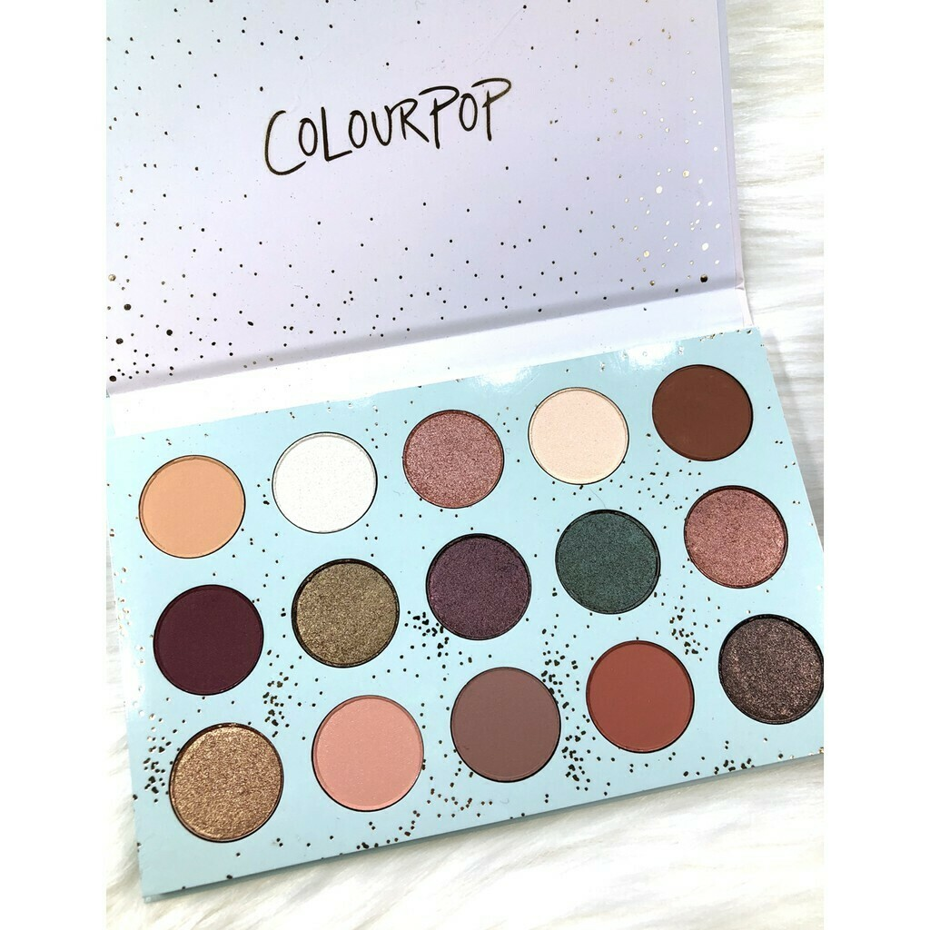 COLOURPOP ALL I SEE IS MAGIC EYESHADOW PALETTE REVIEW, PHOTOS, SWATCHES
