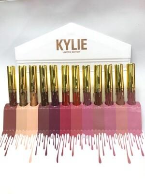 Жидкие матовые помады Kylie (упаковка 12 шт)