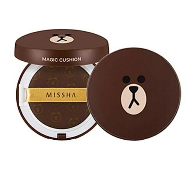 Тональный кушон Missha Brown Bear (флюид), 15 +15 г (запаска)