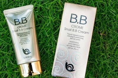 Улиточный BB крем для лица Crome Snail BB cream