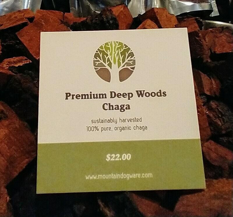 Premium, Organic Chaga