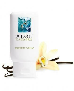 New aloe cadabra organic lubricant - tahitian vanilla 2.5 oz bottle