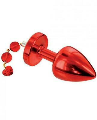 Diogol Anni Torrent 25mm Red Butt Plug