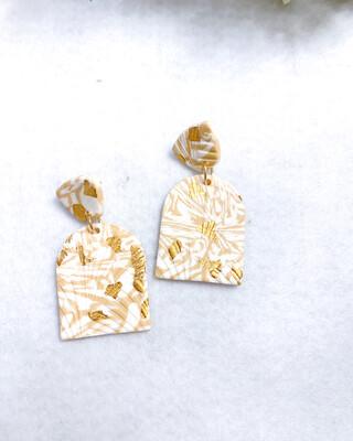 Amora    Polymer Clay Earrings
