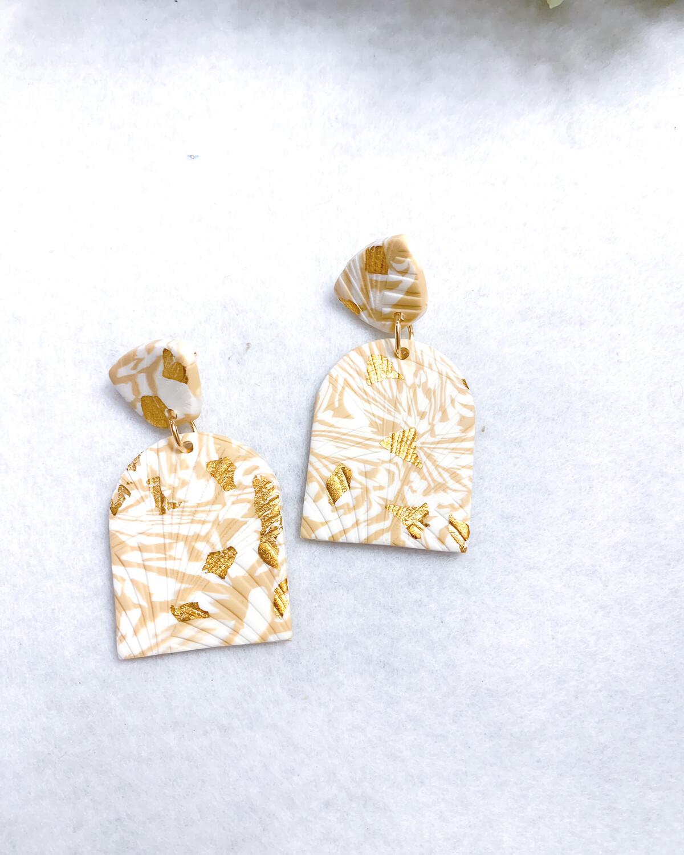 Amora || Polymer Clay Earrings