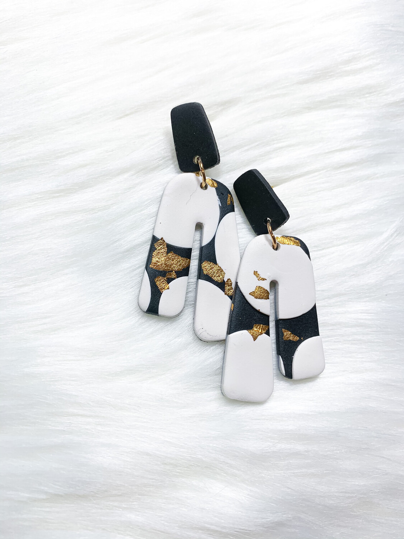 Abi || Polymer Clay Earrings