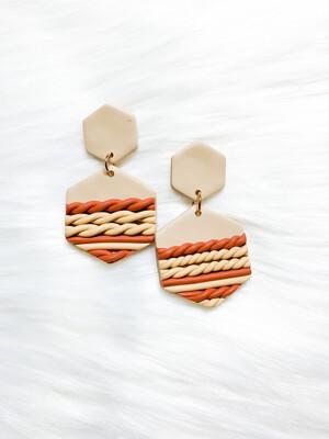Moremi    Polymer Clay Earrings