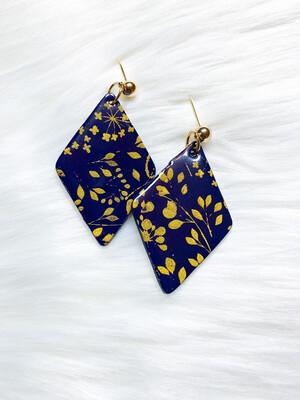 Belle    Polymer Clay Earrings
