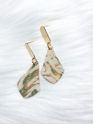 Tinsel    Polymer Clay Earrings