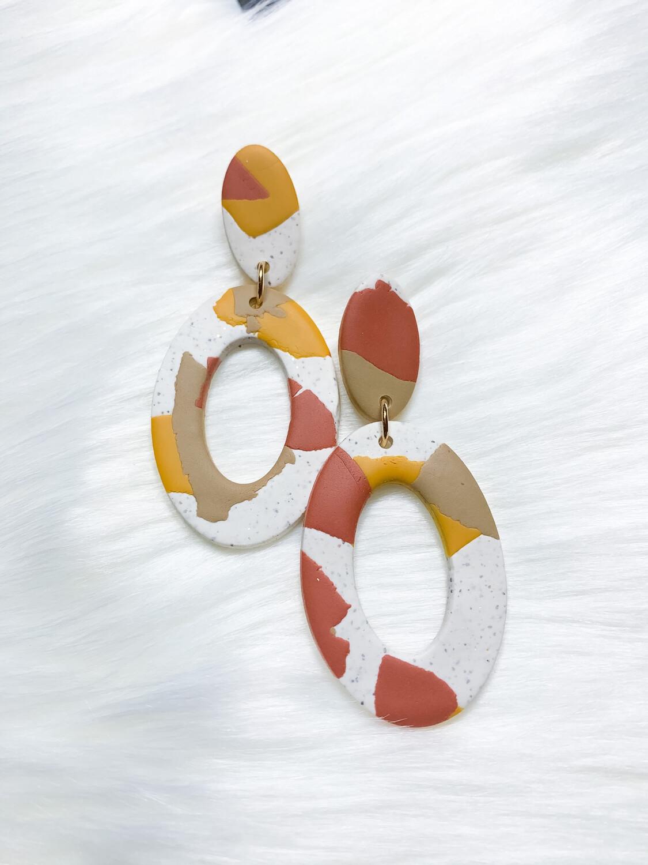 Nkem || Polymer Clay Earrings