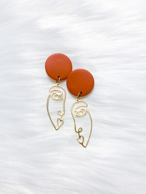 Alexie    Polymer Clay Earrings