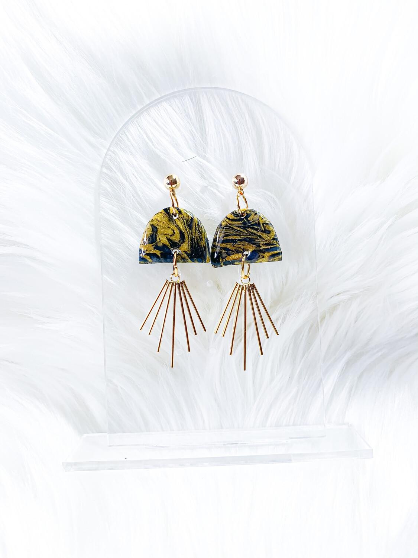 Tife || Polymer Clay Earrings