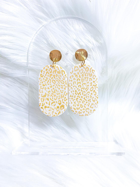 Gianna || Polymer Clay Earrings