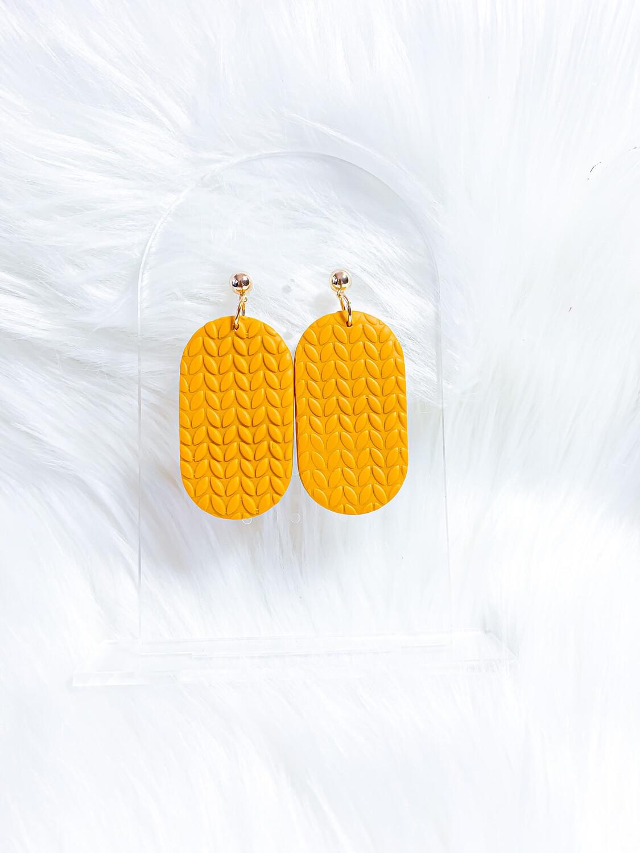 Hazel || Polymer Clay Earrings