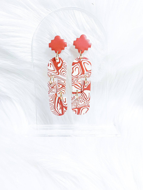 Mila || Polymer Clay Earrings