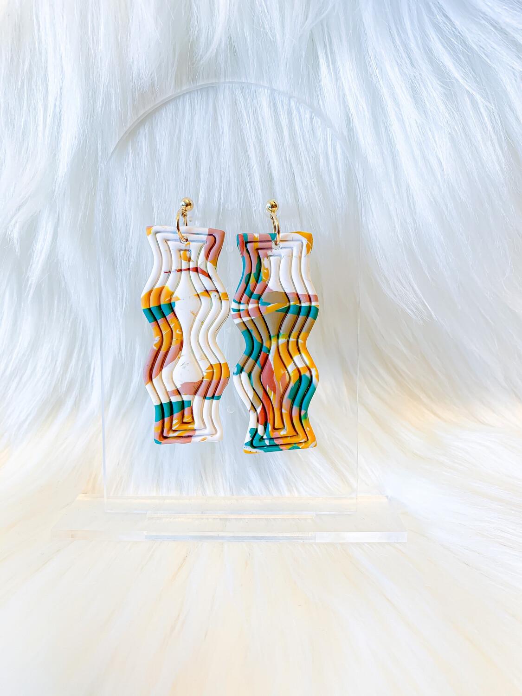 Wanda || Polymer Clay Earrings