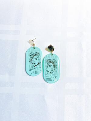 Rylee    Polymer Clay Earrings