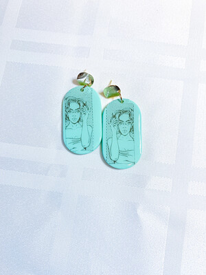 Peyton    Polymer Clay Earrings