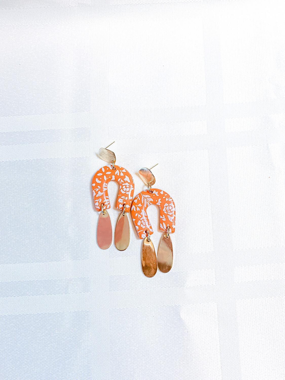 Sadie || Polymer Clay Earrings