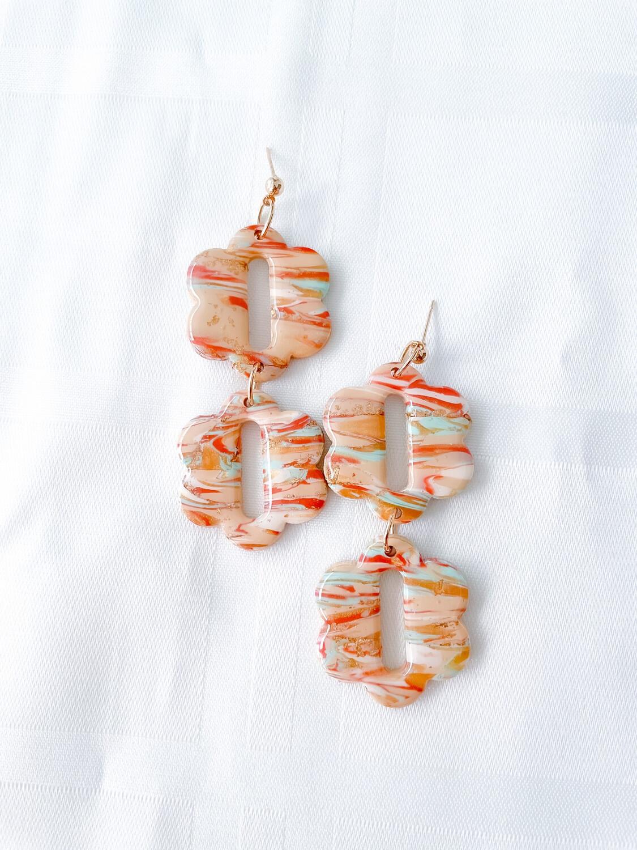 Asake    Polymer Clay Earrings
