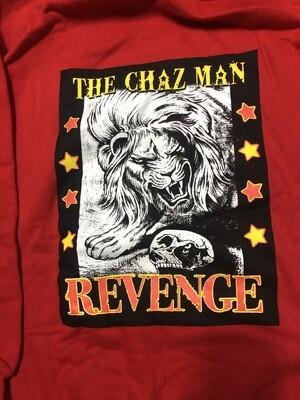 The Chaz Man Revenge Sweatshirt in Red