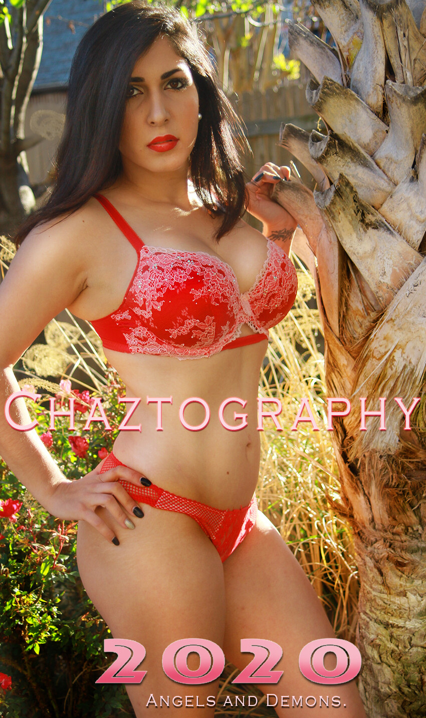 Chaztography. Angels and Demons. 2021 Calendar