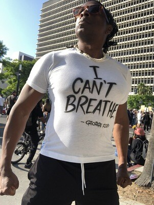 I CAN'T BREATHE T-SHIRT.