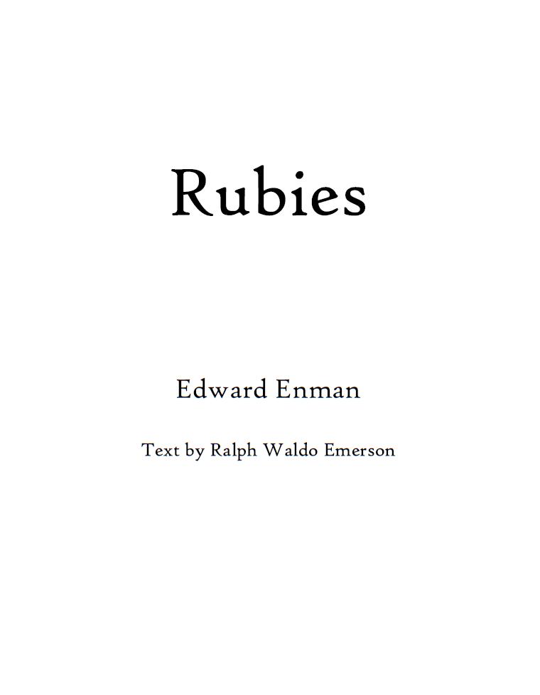 Rubies (SSAA choir)