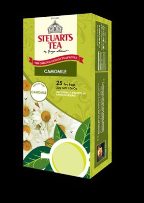 Steuarts CAMOMILE Tea - 25 tea bags
