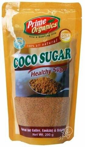 Prime Organics COCO SUGAR 200 grams