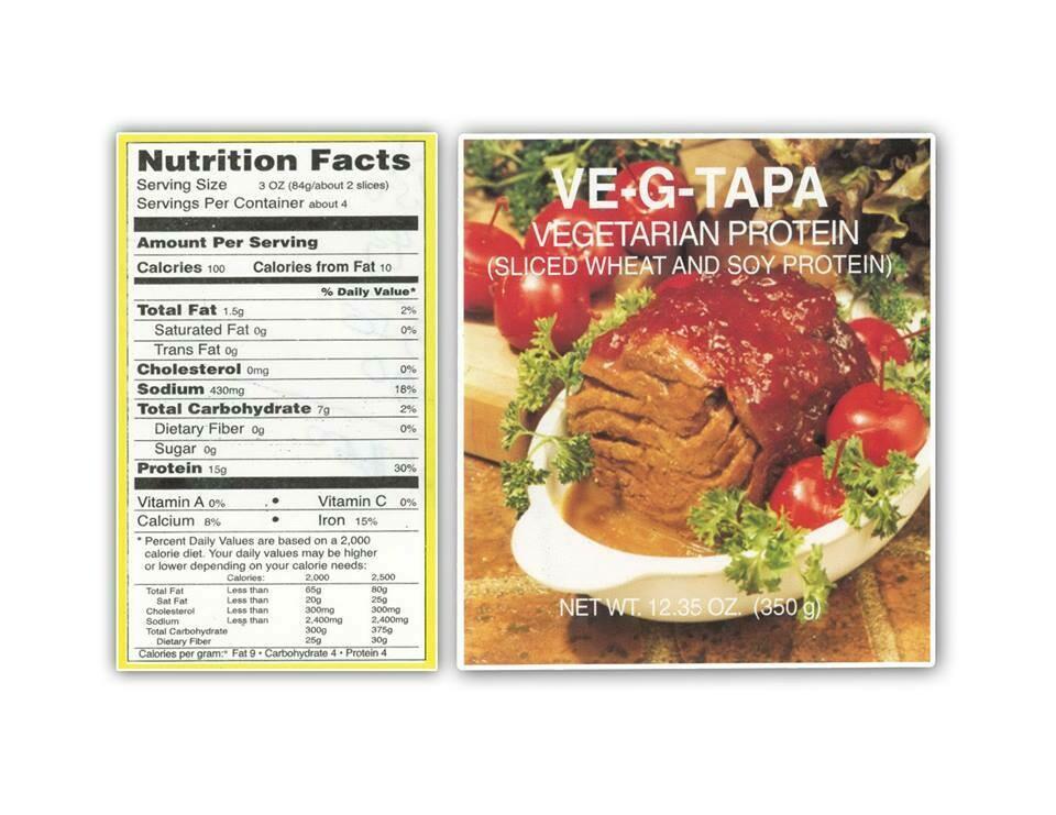 VE-G-TAPA - vegetarian meat - 350g