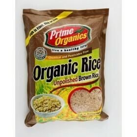 Prime Organics BROWN RICE 2kg