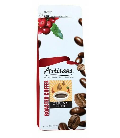 Artisans ORIGINAL 500 grams - GROUND Coffee