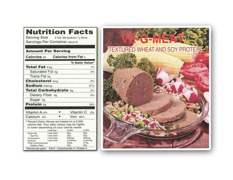VE-G-MEAT - vegetarian meat - 350g