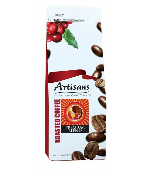 Artisans PREMIUM BLEND 500 grams - GROUND Coffee